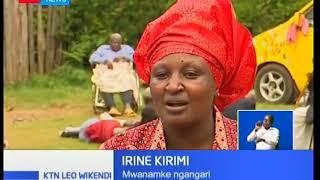 Leo anayevikwa joho la Mwanamke Ngangari Irene Karimi aliyeanzisha nyumba ya kuwapa wazee faraja