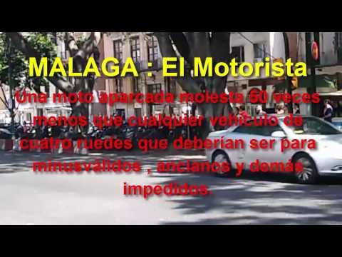 MALAGA 2017 El Motorista ¿Dónde aparco mi moto ?