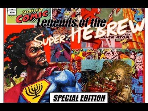 Legends of the SuperHebrew: Captain Christian
