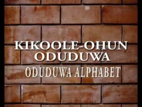 ODUDUWA Alphabet Gets Acceptance From Executive Governor Of Osun State 05/05/2017