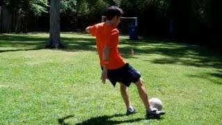 How to Bend a Soccer Ball