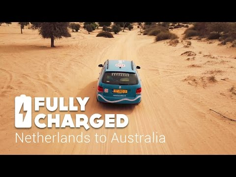 Netherlands to Australia-Overland | Fully Charged