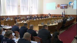 Развитие столицы региона стало основной темой очередного заседания правительства области
