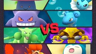 Wigglytuff  - (Pokémon) - Pokémon GO Gym Battles Level 5 Gym Scyther Alakazam Vileplume Wigglytuff Lapras Gengar & more
