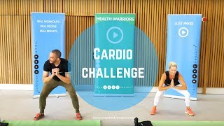 45 minute fat burning, fun home cardio workout (with modifiers) by Body Project