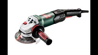 Metabo WEV 17-125 Quick (600516000) - відео 1