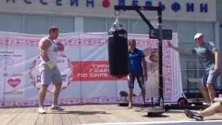 Рекорд России по силе удара! Удар кулаком больше тонны 1021 кг ( Сергей Ломакин )