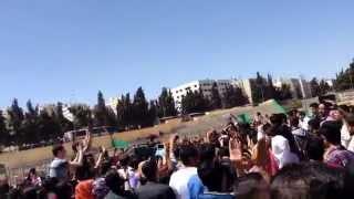 preview picture of video 'احتفالات الجامعة الأردنية بمناسبة ذكرى معركة الكرامة'