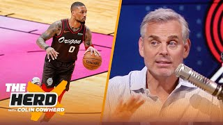 Which NBA teams could land a trade for Damian Lillard? Colin Cowherd decides | NBA | THE HERD