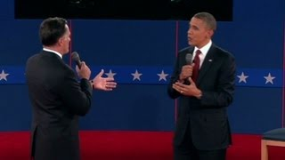 Obama, Romney take each other on during town hall debate