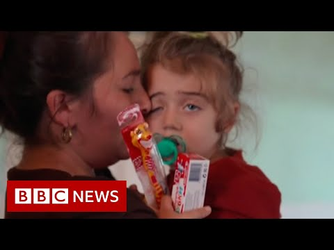 Nagorno-Karabakh: The three-year-old orphaned by war - BBC News