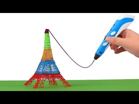 3D Stift - Wie zeichnet man einen Eiffelturm?