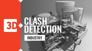 Clash detection – Plant project – Visual report