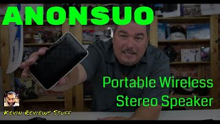 Kevin Reviews Stuff | Review of the ANONSUO PORTABLE WIRELESS STEREO WALLET BLUETOOTH SPEAKER