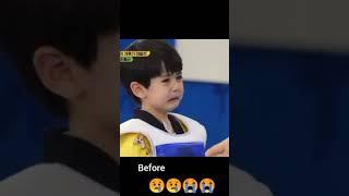 Korean taekwondo baby kid crying   look what happen next   lee rowoon
