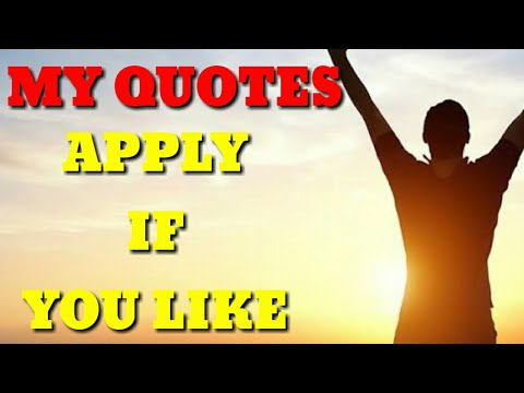 My Quotes | Awesome Bro