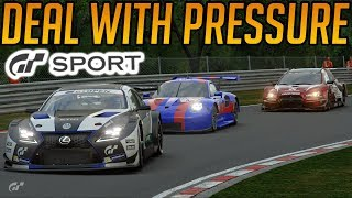 Gran Turismo Sport: Dealing with Pressure
