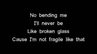 Christina Grimmie - Not Fragile LYRICS