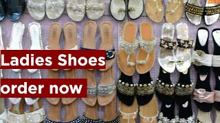 Shoes For Ladies | Beautiful Flat Sandal Collection | Fancy Bridal Shoes Designs For Women