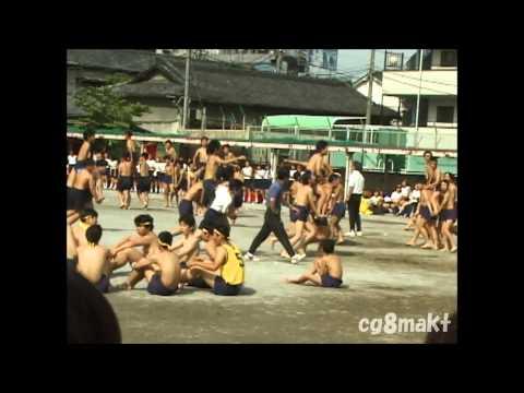 2000 足立一中 体育祭 激闘!! 騎馬戦