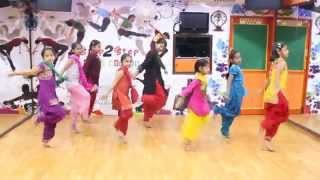 Sweetu | Disco Singh | Bhangra Dance Steps By Step2Step Dance Studio