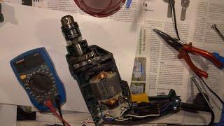 Repair Video, Reparatur Bohrmaschine Bosch PSB 400 RE, dreht nicht mehr u. Rechts/Linkslauf Schalter