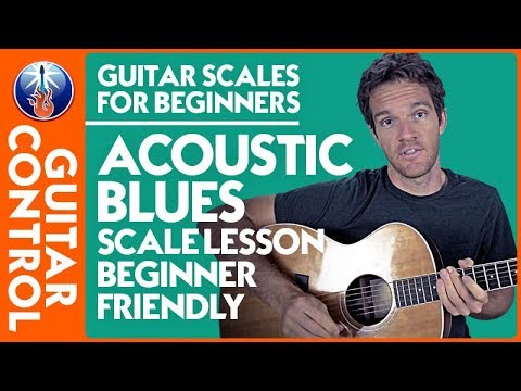 Guitar Scales for Beginners: Acoustic Blues Scale Lesson [Beginner Friendly] | Guitar Control