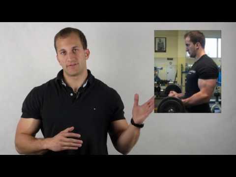 erfolgreicher Muskelaufbau - muskelschmerzen arm
