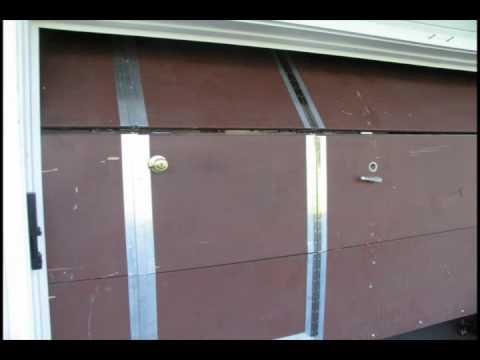 Can You Install Entry Door In The Existing Garage Door