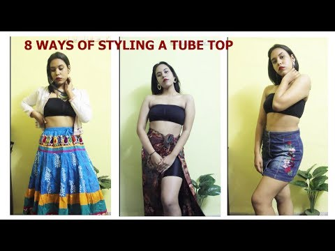 8 ways of styling a Tube Top