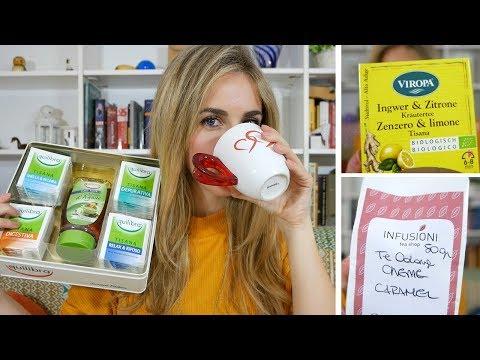 Tè, tisane e infusi: i miei preferiti!
