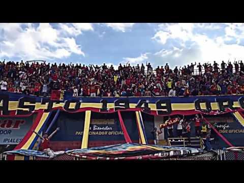 """""""La banda tricolor 2016"""" Barra: La Banda Tricolor • Club: Deportivo Pasto"""