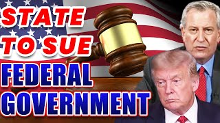 Federal Government About to Be Sued by a State | What You Must Know