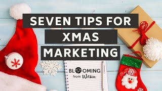 Top seven tips for marketing your business for Christmas