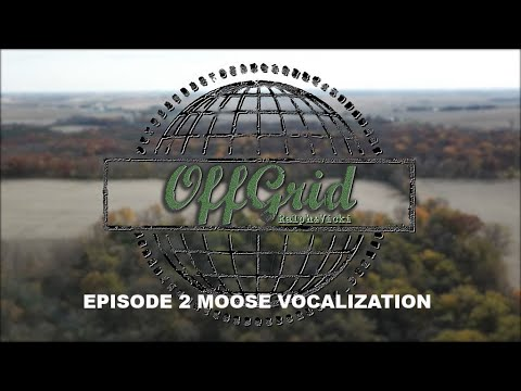 Off Grid with Ralph and Vicki Episode 2 Moose Vocalization