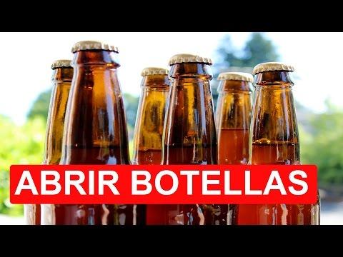 5 Formas De Abrir Una Botella Sin Abridor