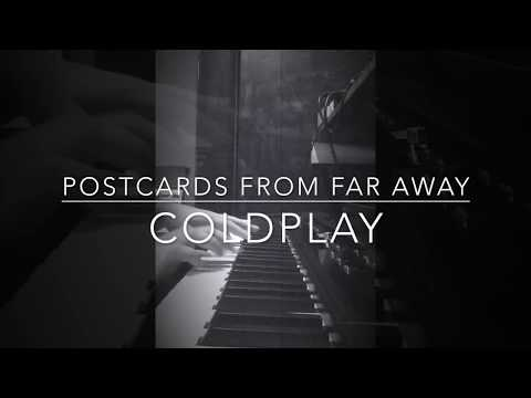 "Piano cover of ""Postcards From Far Away"" by Coldplay from 2017."