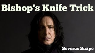 Severus Snape - Bishop's Knife Trick (Fall Out Boy)