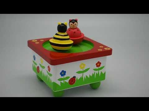 BEE & LADYBIRD MUSIC BOX