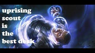 Uprising Scout is the Best Tournament Deck   Elder Scrolls Legends