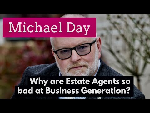 Why aren't estate and letting agents any good at business generation?