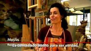 Vídeo: Maylis, una restauradora que dialoga con Dios