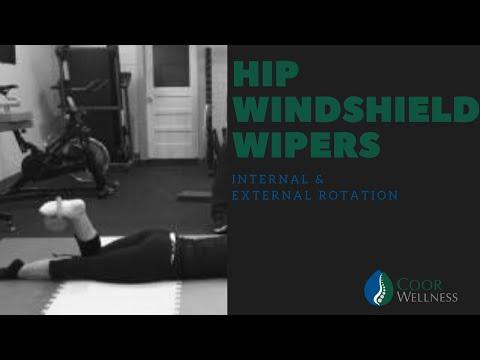 Prone Hip Internal Rotation
