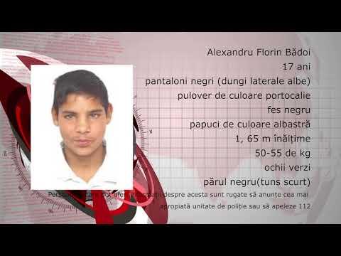 Băiat de 17 ani dispărut de la domiciliu