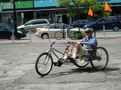 Build A No-Weld Recumbent Trike Out Of Old Bike Parts