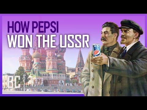 Jak Pepsi dobyla Sovětský svaz