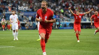 Harry Kane's last-minute goal snatches an opening three points for England against Tunisia.  Subscribe / Upgrade to Sports Pack: http://bit.ly/2HU3eUx   ✔ Subscribe to Stadium Astro on YouTube: http://bit.ly/2Cfsg8O ✔ Watch Stadium Astro on Astro Go: http://bit.ly/2nW6bIJ   Get more Stadium Astro on YouTube: ► Man On The Street: http://bit.ly/2EkOyIr ► League of Legends: http://bit.ly/2EkEzTf ► Sportify: http://bit.ly/2nTkRrv ► Wishlist: http://bit.ly/2H7TjGV ► For Fans Only: http://bit.ly/2H9xsiy ► Small World: http://bit.ly/2G6VQ2F ► Seriously Series: http://bit.ly/2G5Lv7b ► Prank You Very Much: http://bit.ly/2EolV0Y ► B4KO Exclusive: http://bit.ly/2nT7vLM ► Express: http://bit.ly/2BUZ1N6 ► EPL Highlights: http://bit.ly/2nVHI5K ► EPL Live: http://bit.ly/2nVYRw4   Stadium Astro on Social Media: ► Follow on Twitter: http://www.twitter.com/stadiumastro ► Like on Facebook: http://www.facebook.com/stadiumastro ► Follow on Instagram: http://www.instagram.com/stadium.astro   Visit Stadium Astro on YouTube to get up-to-the-minute sports news coverage, scores, highlights, commentary for EPL, UCL, NBA, WWE and original programming.   More on Stadium Astro: http://www.stadiumastro.com