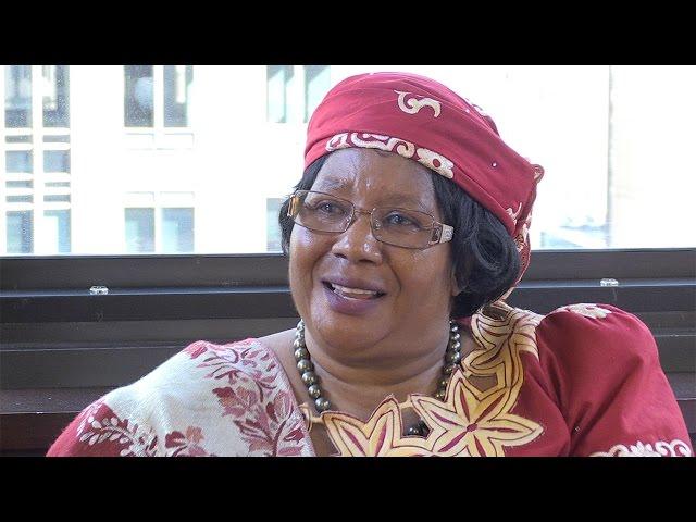 Why Give: Joyce Banda, Founder of the Joyce Banda Foundation