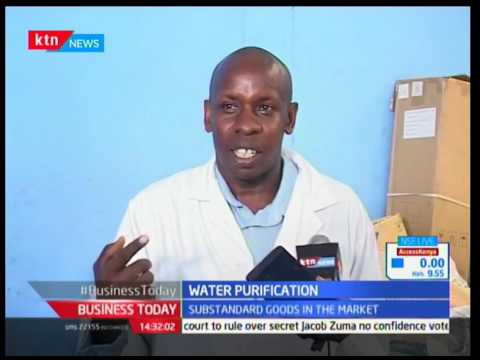 Water purification : Unscrupulous traders bottling  water