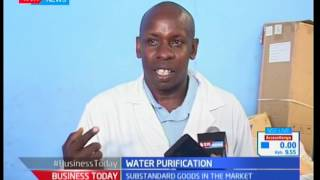 Water purification : Unscrupulous traders bottling water in Kenya